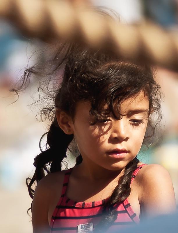 Curls In The Wind