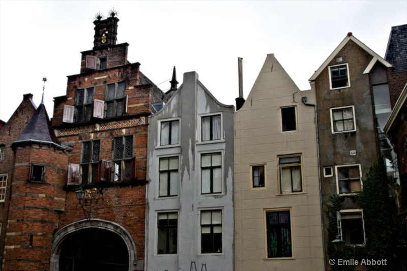 Buildings in Nijmegen