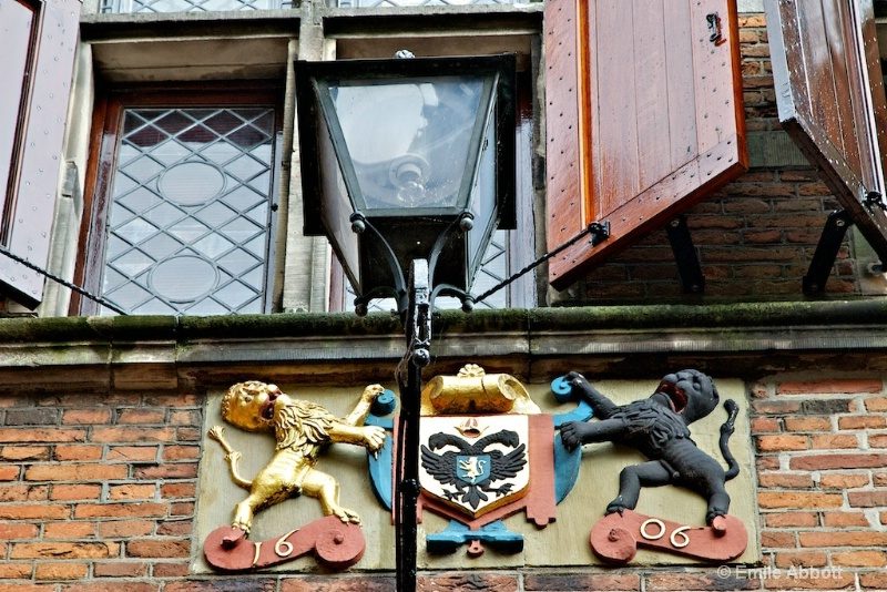 1660 Coat of Arms on building