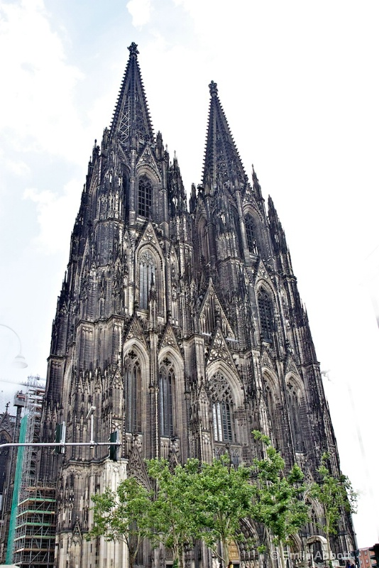 Twin towers of Cologne Cathedral