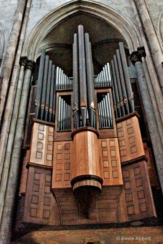 "Pipe Organ in ""The DOM"""