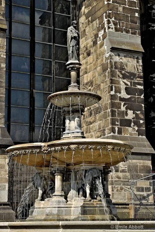 "Fountain outside of ""The DOM"""