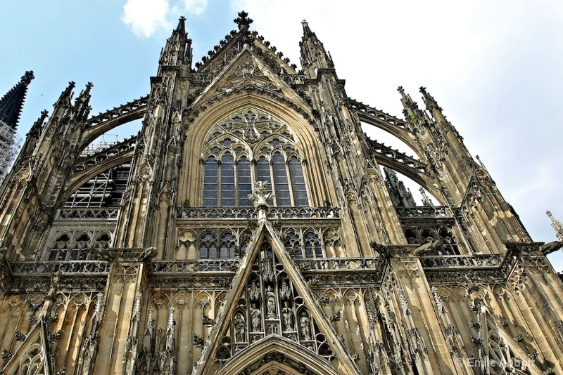 "Gothic Style Cologne Cathedral ""The DOM"""