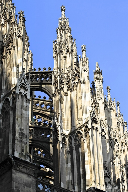 Flying Buttress of Cologne Cathedral