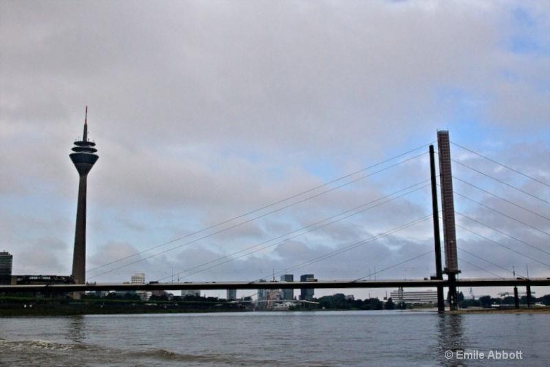 Bridge entering Cologne
