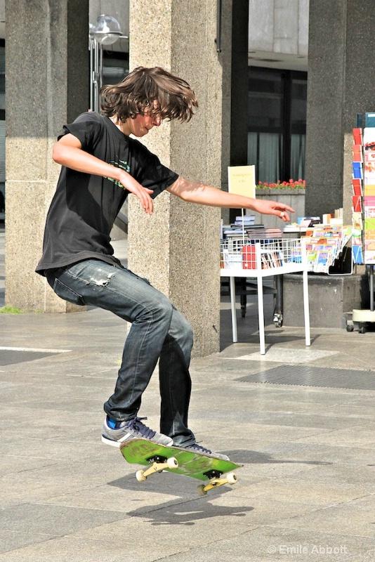 Skate Boarder in action