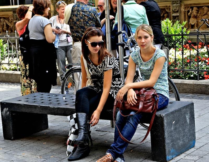 Street Scene in Cologne