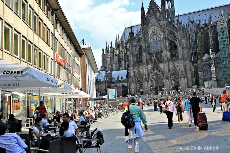 Cologne Cathedral Square