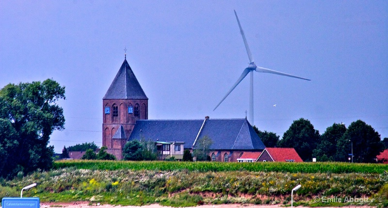 Windmill along Canal