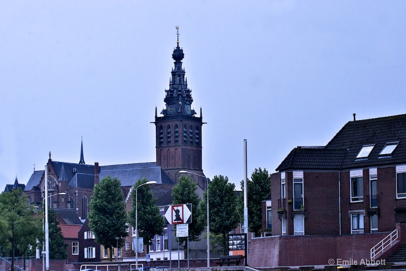 View of St. Stevenkerk entering Nijmegen