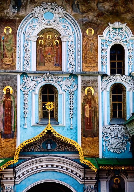 Church Icons@@Kiev, Ukraine
