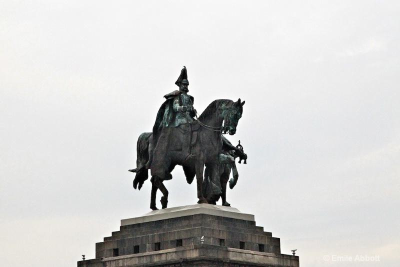 Cavalier Monument, Emperor Wilheims I, Koblenz
