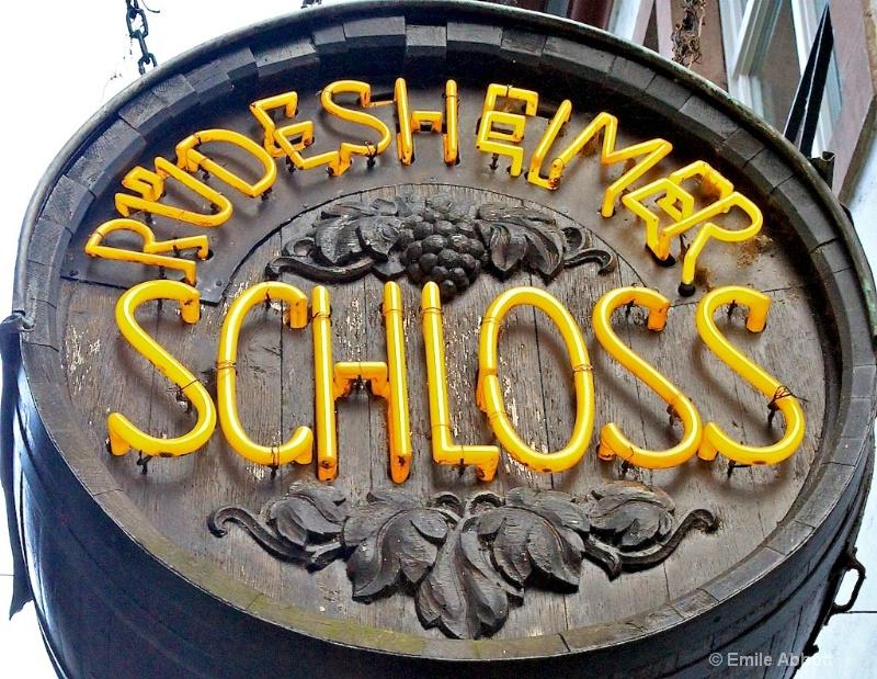 Dinner at the Rudesheimer Schloss