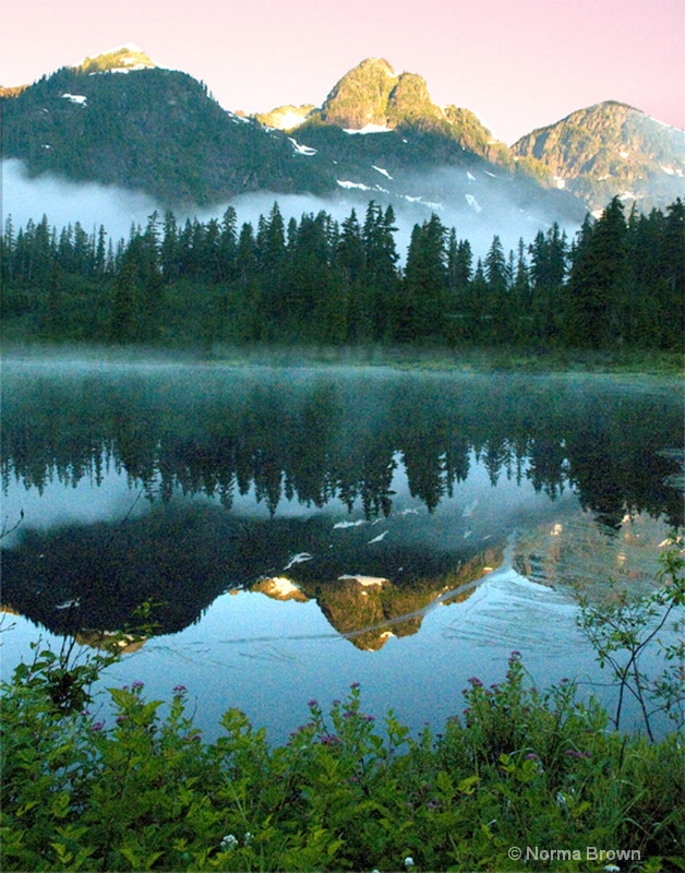 Picture Lake, Mt. Baker/Snoqualmie NF, WA