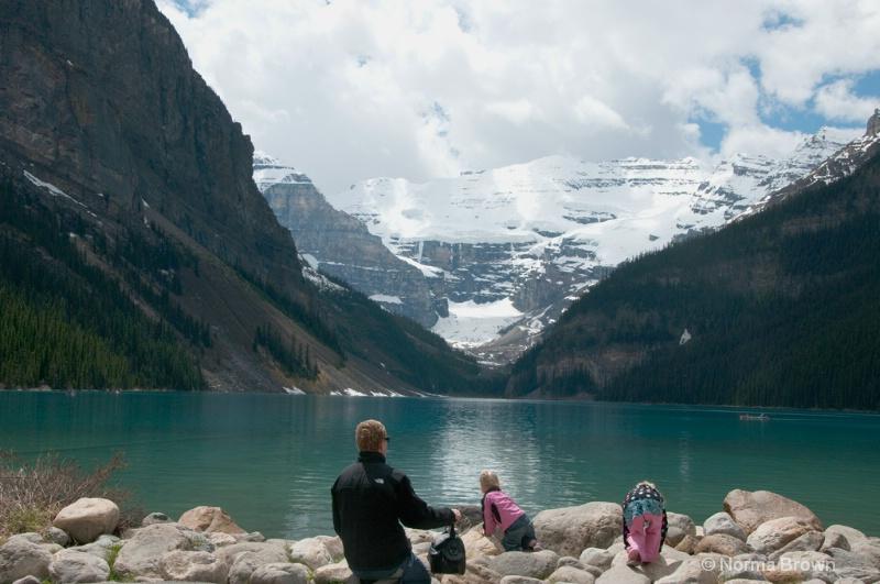 Visiting Lake Louise, Alberta, Canada