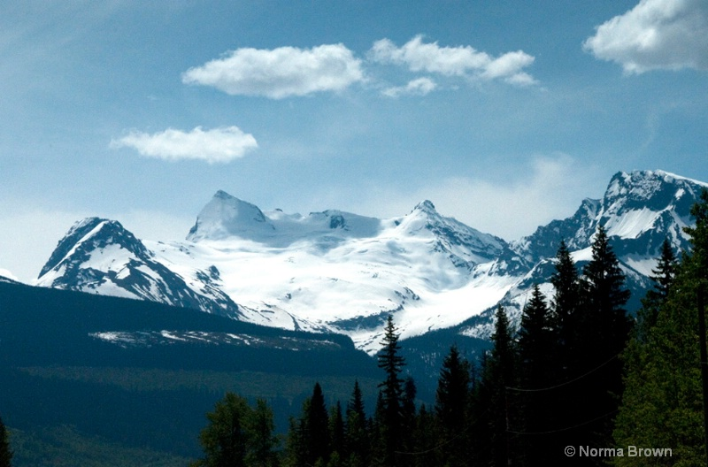 View from Valemount BC, Canada