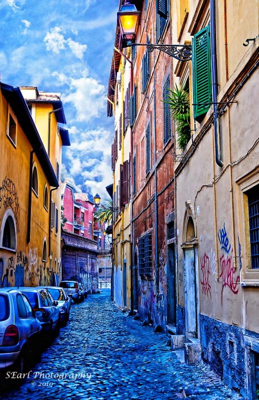 Street in Rome