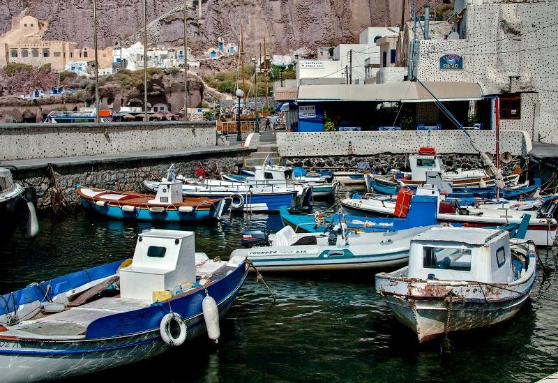 Ammoudi Harbour, Santorini