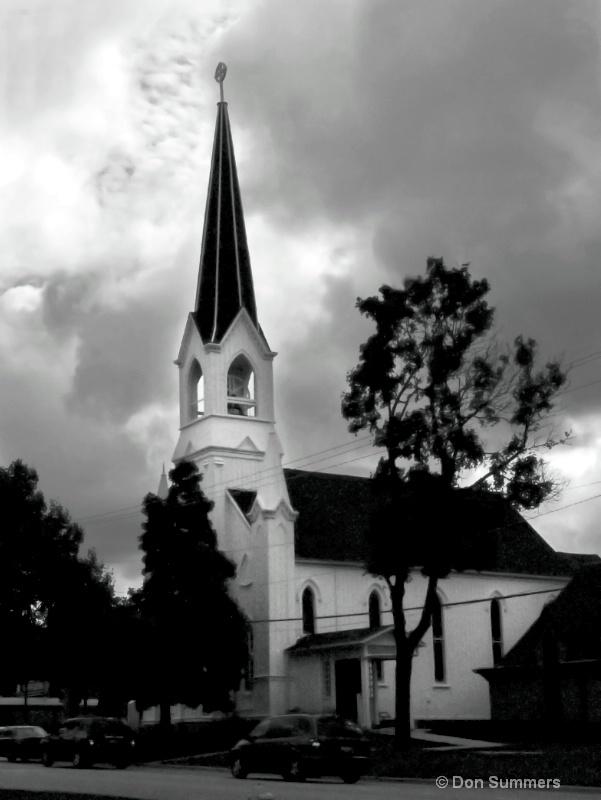 Firts Church of Lombard circa 1880, 2009