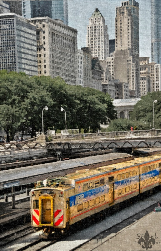 Chicago Train Yard
