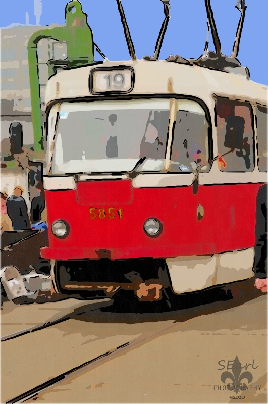 Kiev Train@@Stylized