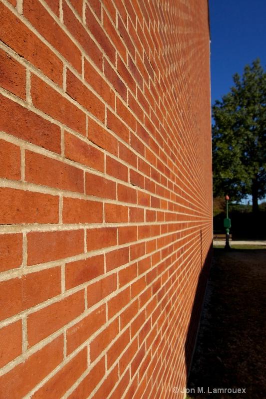 Sunshine on the bricks