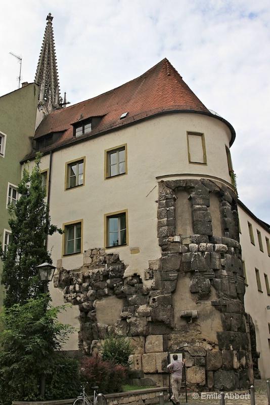 Porta Pratoria circa 197 AD