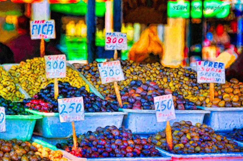 Olive Market@@Tirana, Albania