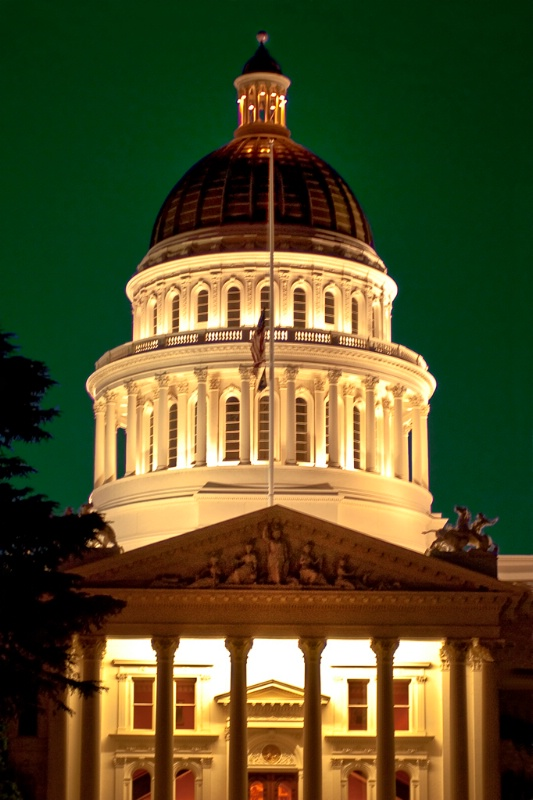 California State Capitol...Going Green