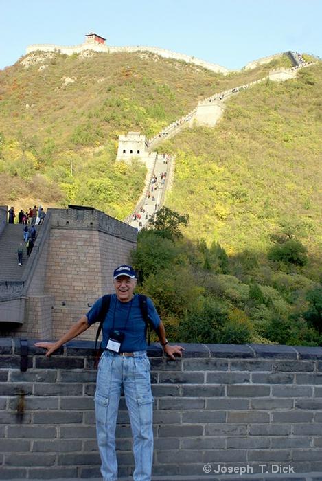 wall joe at start of climb 1a
