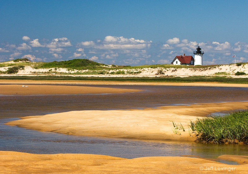 Race Point Light at Low Tide