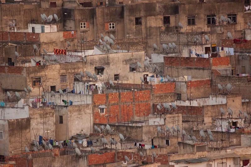 Fez Rooftops, Morocco