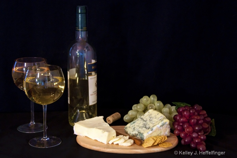 A Little Wine & Cheese