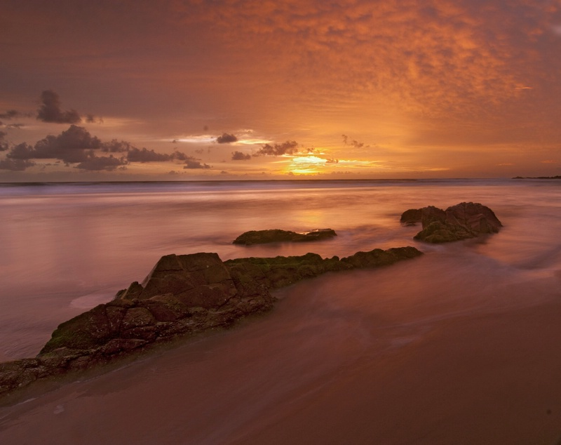 Sunrise at Coolum Beach Australia