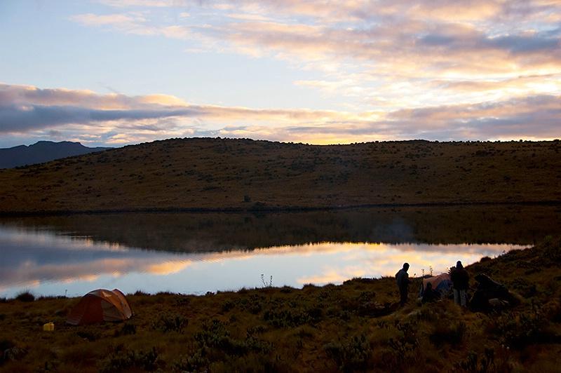 Idyllic Camping in Kenya