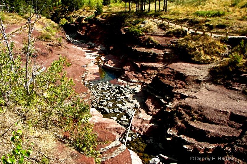 Red Rock Canyon,  Waterton NP