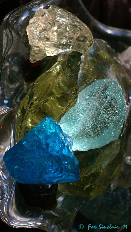 Andara Crystals in Bowl