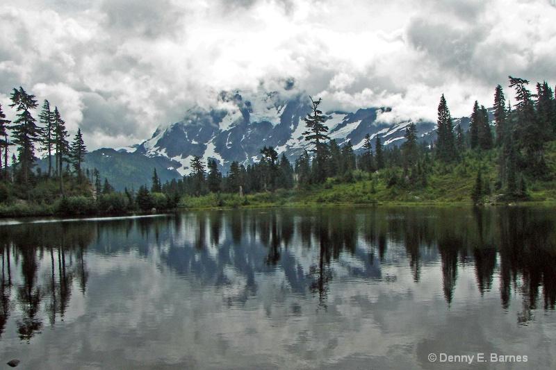 Picture Lake and Mt Shuksan, WA
