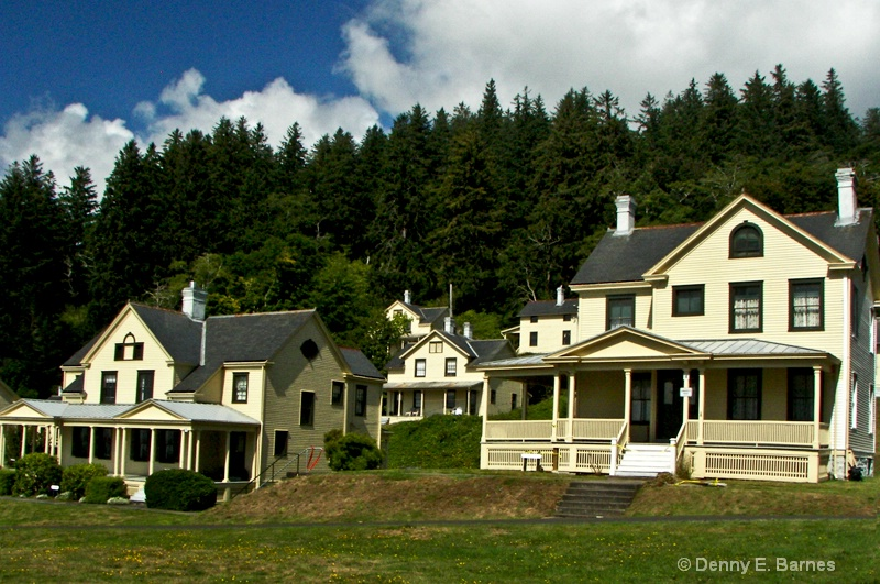 Fort Columbia Officer Quarters, WA
