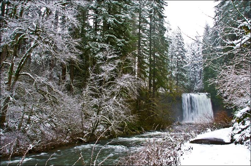 Upper North Falls, Silver Falls SP