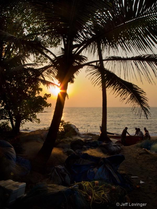 Sunset, Anjuna, Goa, India