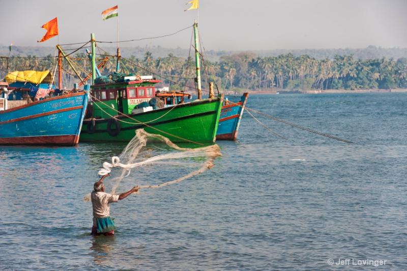 Chapora Harbor, Goa, India