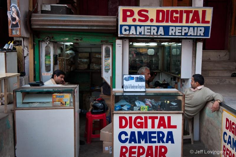 Camera Repair, Old Delhi, India