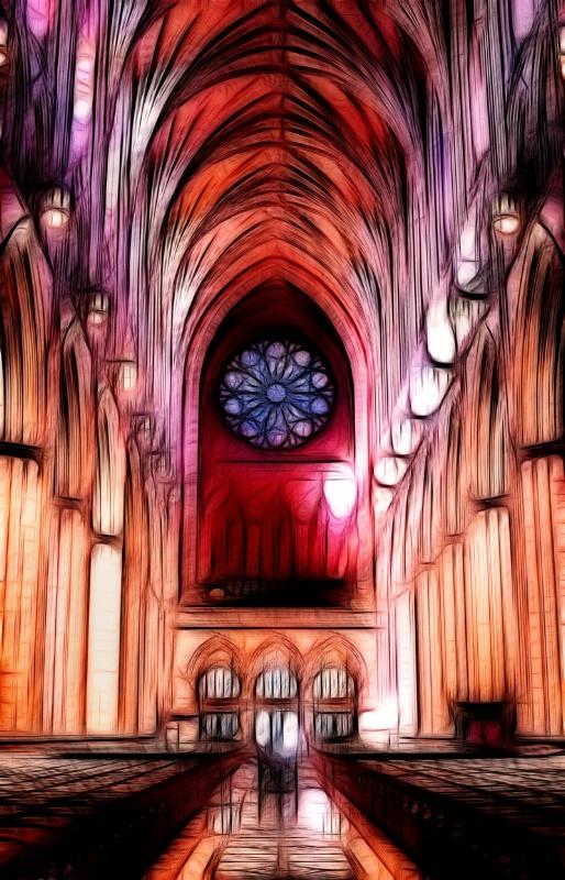 Washington National Cathedral -- Fractalius