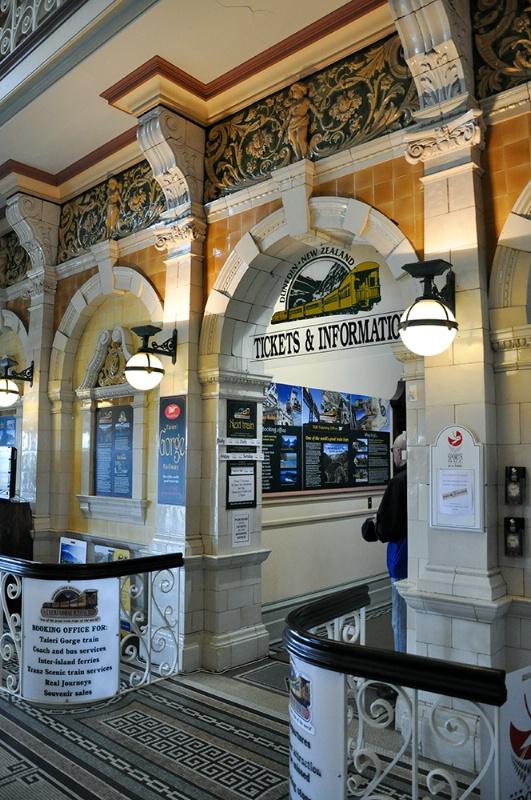 Inside Dunedin Station
