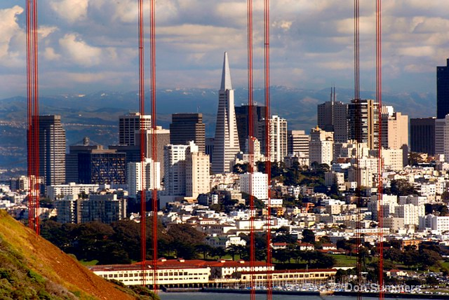 San Francisco Embarcadero and Financial District