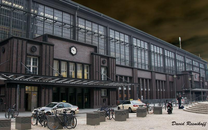 Friederich Strasse Station. Berlin