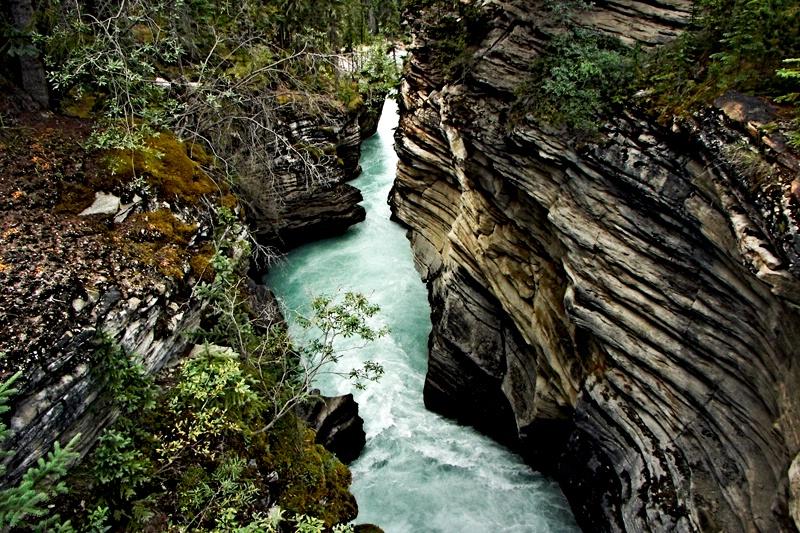 Canyon Below the Falls