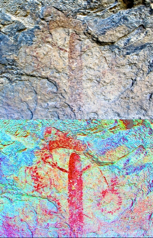 Before/After   N. America's oldest art work