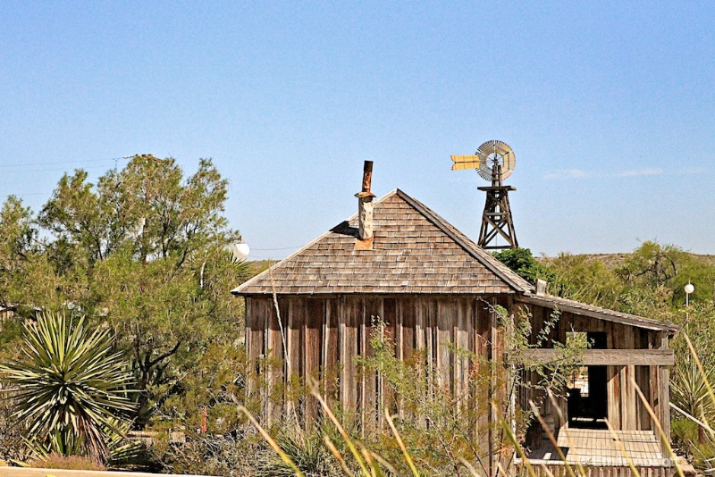 Langtry Windmill, west Texas